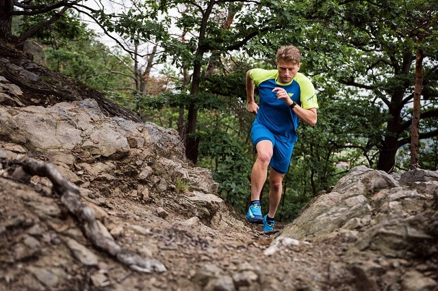 The Dynafit Ultra 100 trail running shoe is perfect for long trail runs in alpine terrain