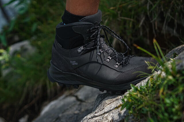 The Hanwag Banks GTX hiking boots are very comfortable to wear even on long hikes 2020
