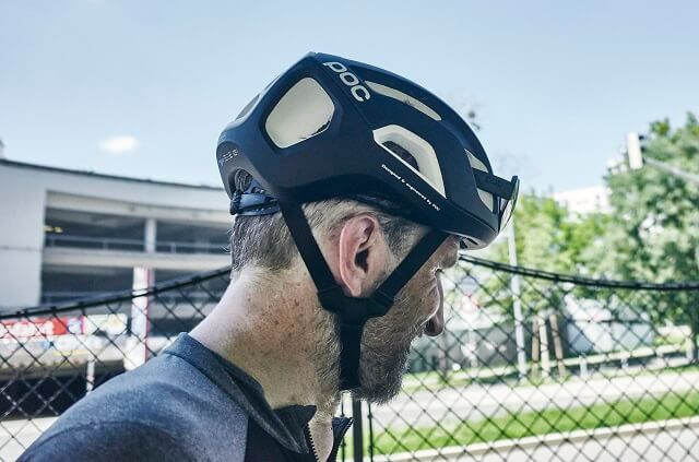 The POC Ventral Air Spin NFC bicycle helmet in test 2020