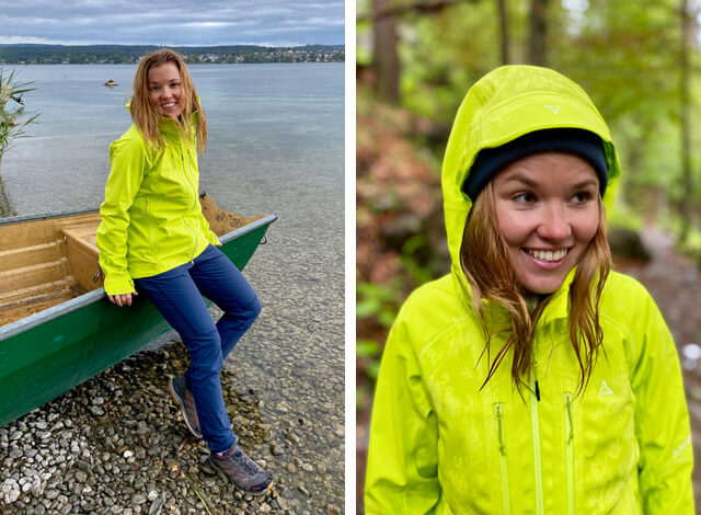 The Schöffel 3L Charleroi Softshell Jacket with adjustable hood is waterproof windproof and breathable thanks to the S Cafe Mambran