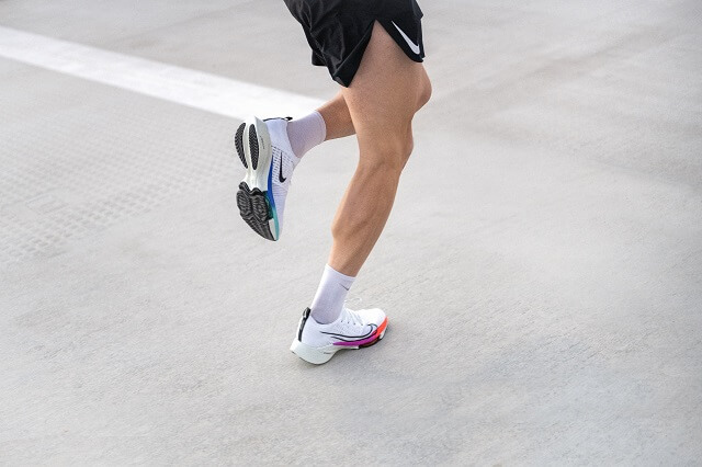 Keller Sports Pro Jan tests the Nike Air Zoom Tempo NEXT% Flyknit in Running Training 2020