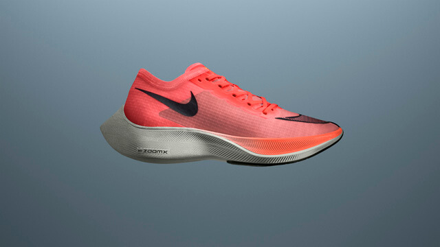 Nike ZoomX Vaporfly 4% running shoes with Colorway update for 2020