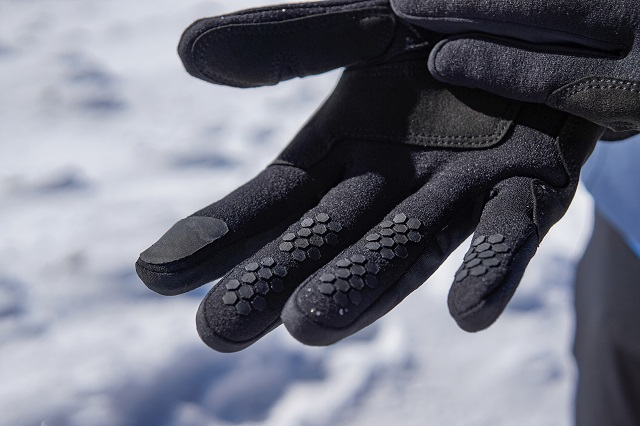 Ziener Gusty Touch ski gloves with touch function impress with their versatility in winter sports Test 2020