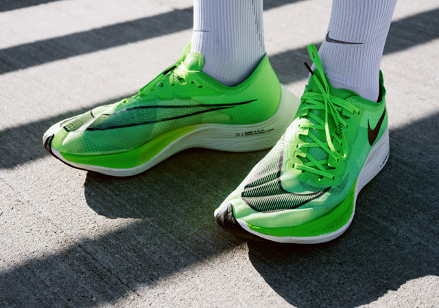 Nike Zoom X Vaporfly NEXT% Test 2019 new world elite running shoe with Vaporweave instead of Flyknit like the predecessor 2018