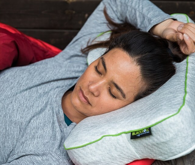 The Blackroll Recovery Pillow in the 2020 Test