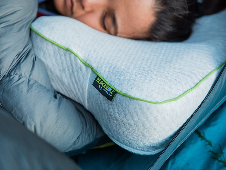 The Blackroll Recovery Pillow in the test - More performance through sleep?