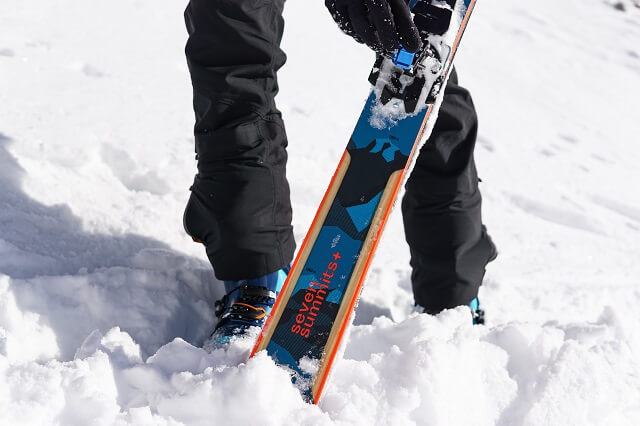 The Dynafit Seven Summits+ Touring Ski Set in the 2020 2021 Test