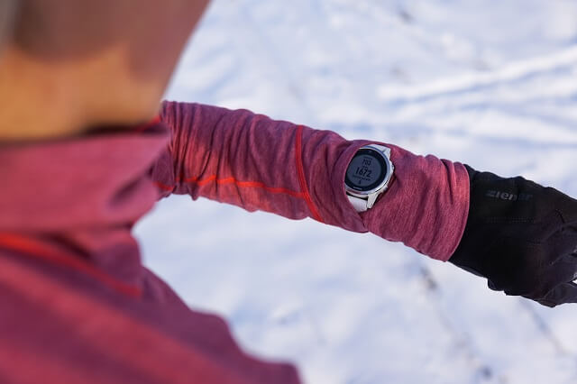 The Schöffel Seekofel Logsleeve Midlayer in the winter sports test of the ski touring clothing collection 2020 2021