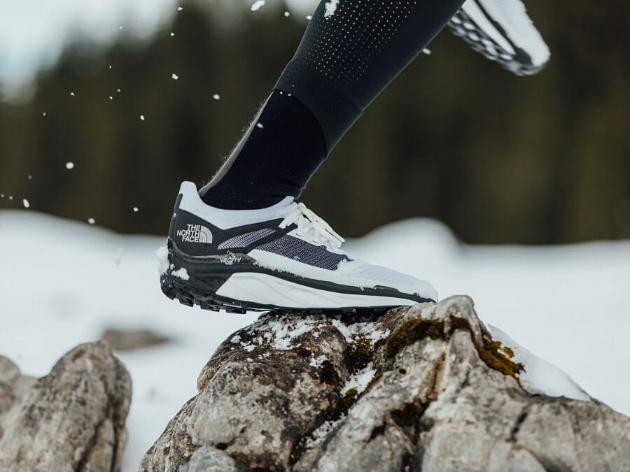 The North Face Flight Series Vectiv trail running shoes in test