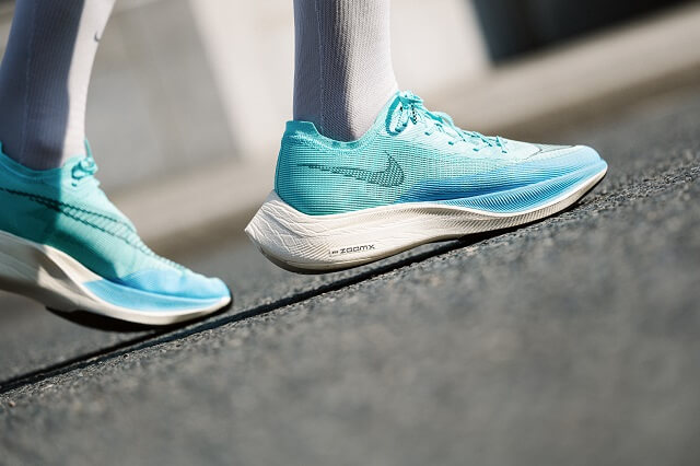 The Nike ZoomX Vaporfly NEXT% 2 running shoe impresses with good performance in our 2021 Running Test