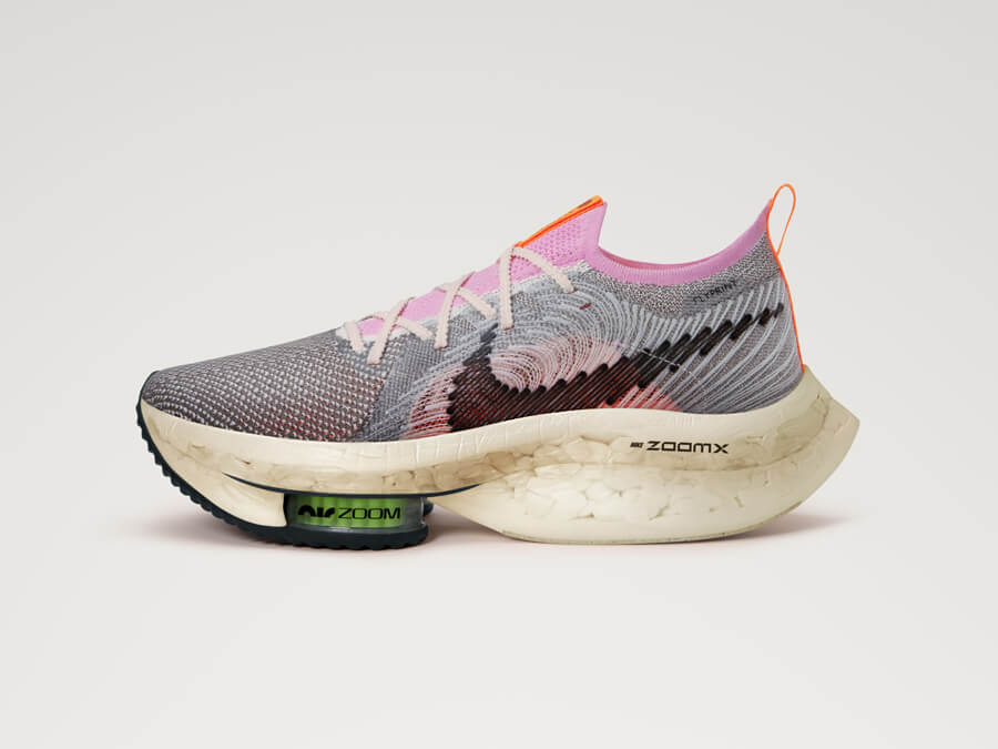 The Nike Air Zoom Alphafly Next Nature: Reducing waste – without sacrificing on performance