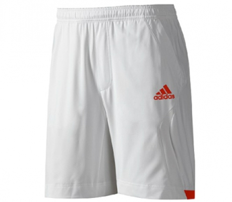 Adidas - Barricade Short white - SS12 tennis apparel for men