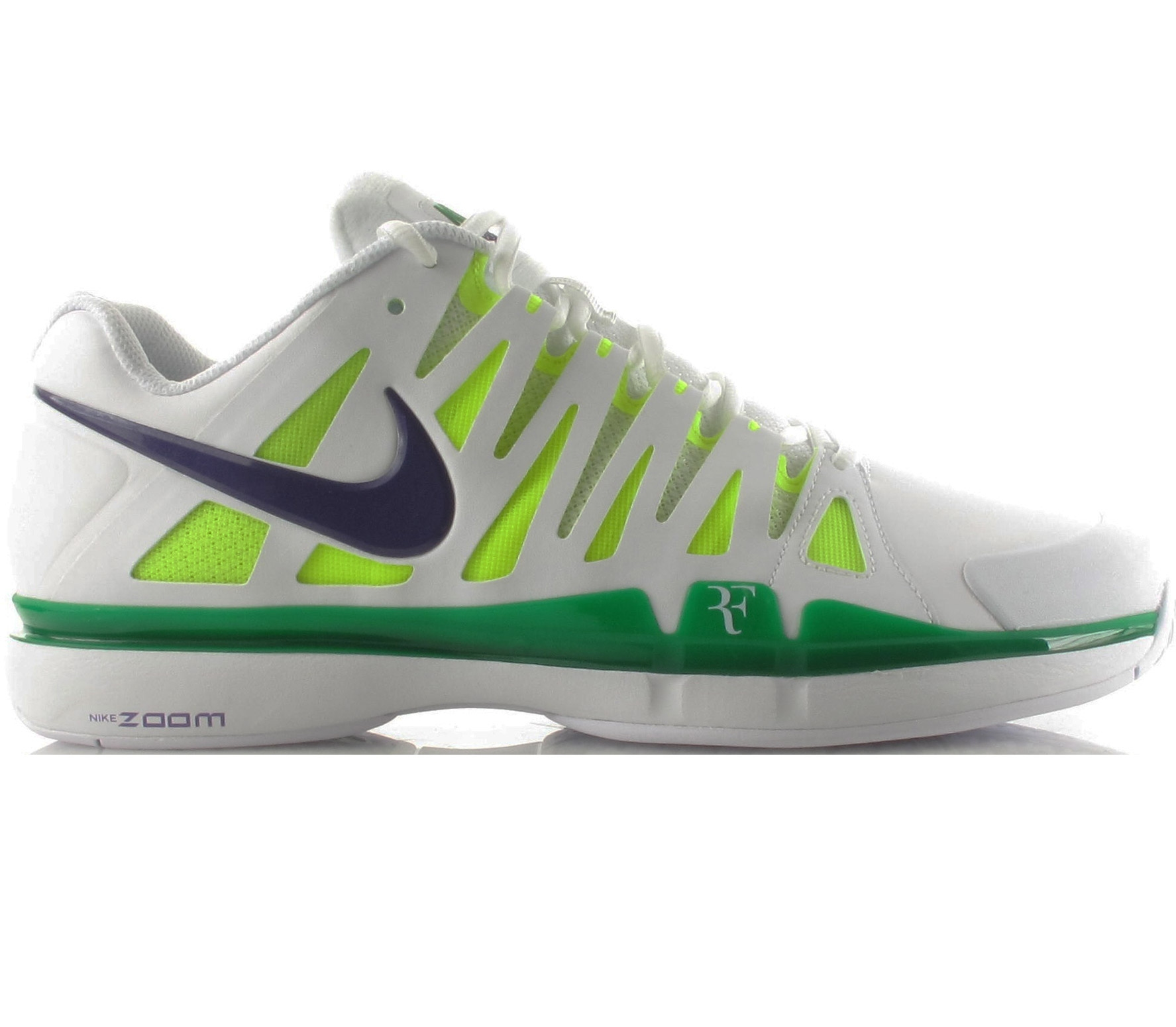 Hatfield collaborated to create the Zoom Vapor 9 Tour Mens Tennis Shoe