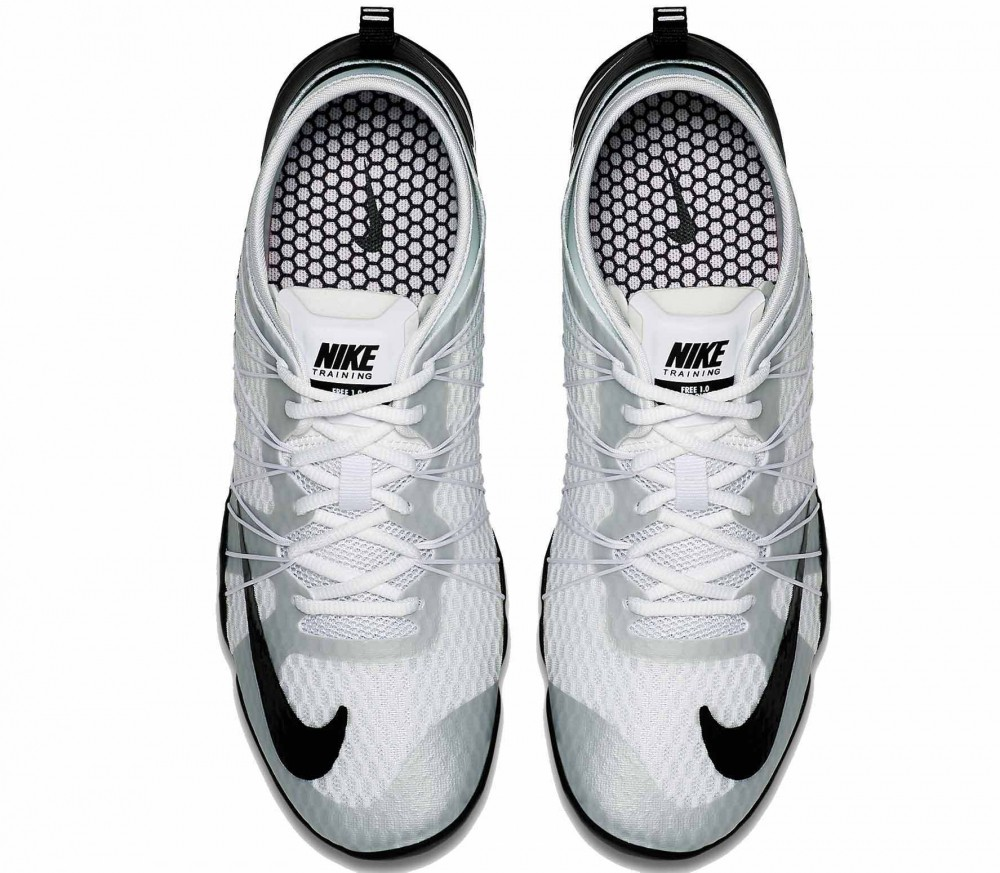 Nike - Free 1.0 Cross Bionic 2 women's training shoes (white/black)