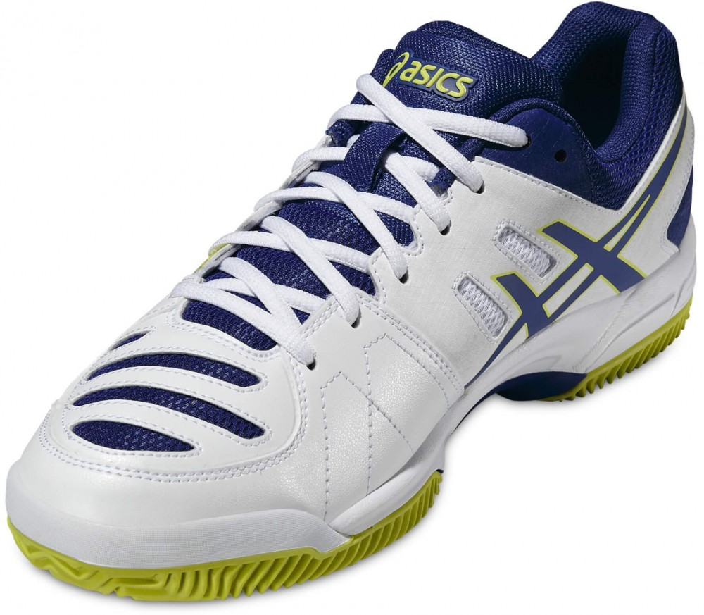 Asics - Gel-Dedicate 4 men's tennis shoes (white/blue)
