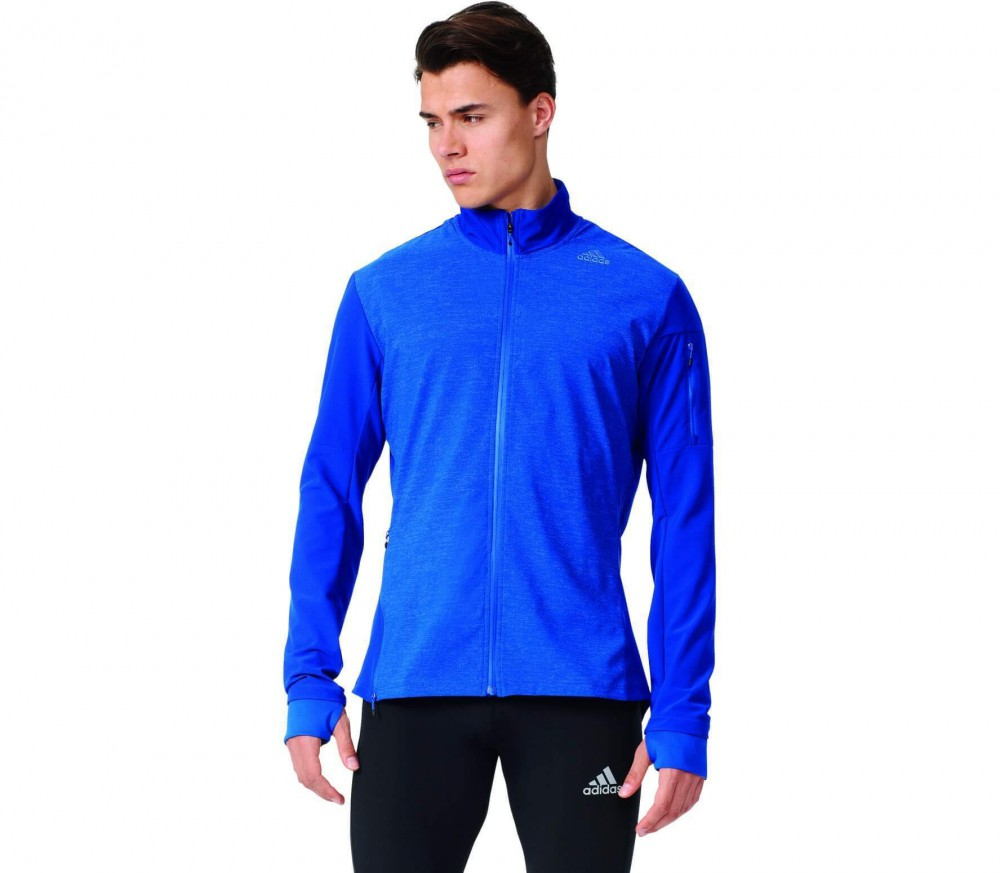 Adidas - Supernova Storm men's running jacket (dark blue)