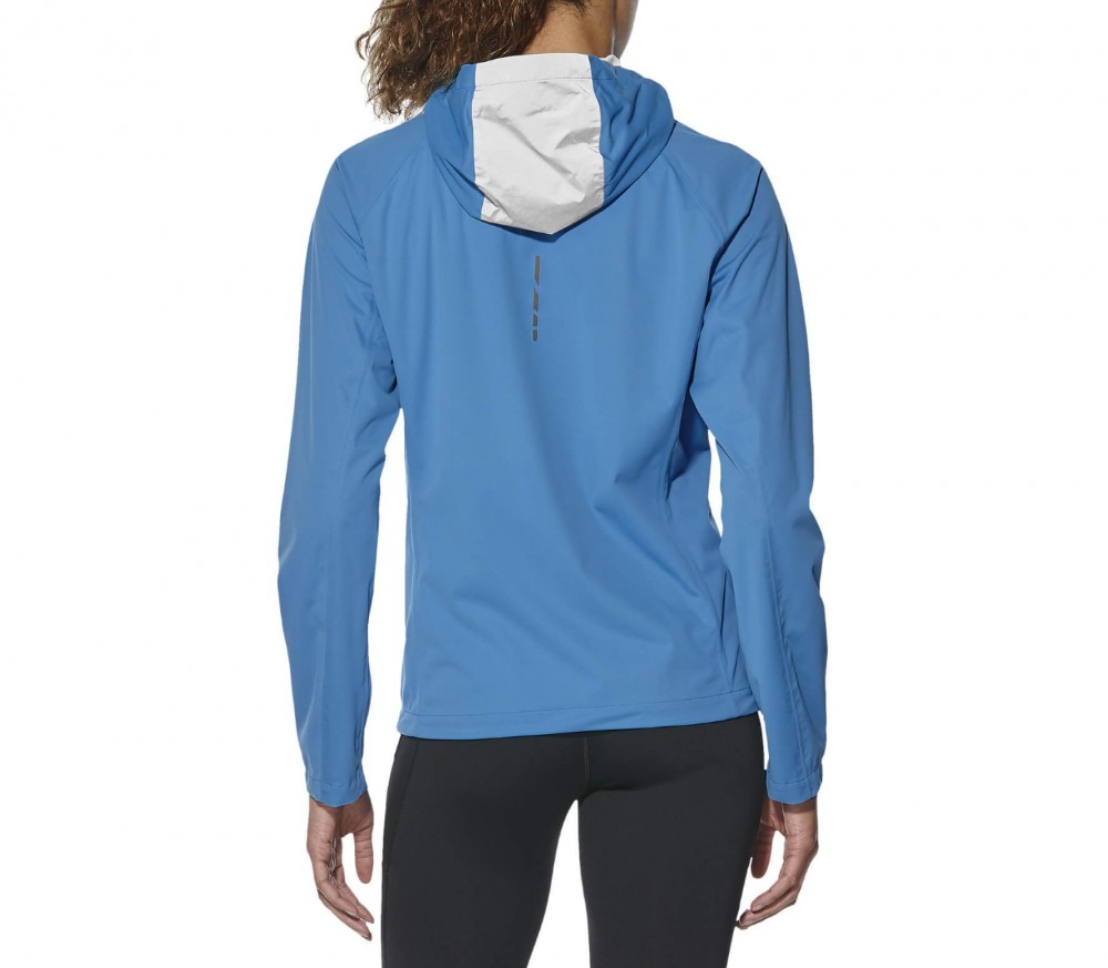 Asics - Accelerate women's running jacket (blue)