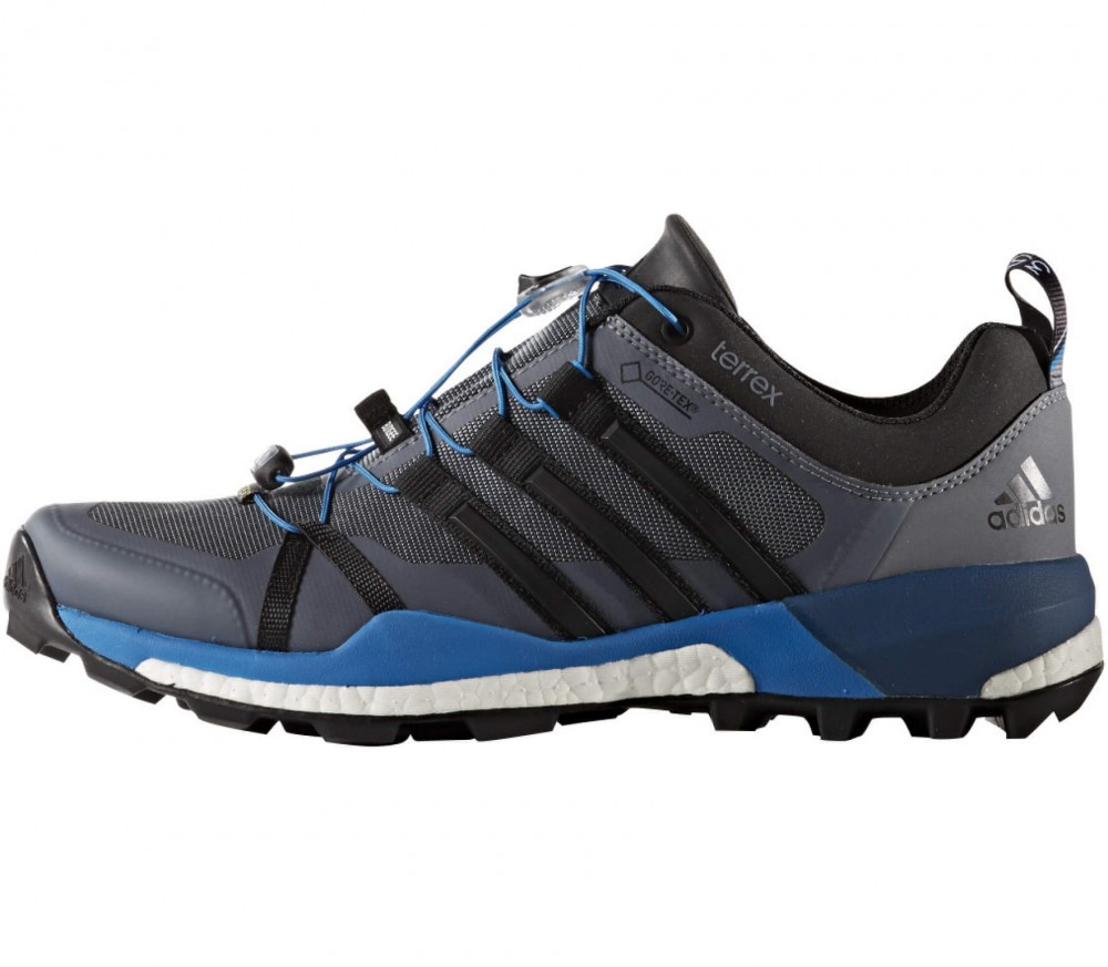 adidas terrex skychaser gtx men 39 s hiking shoes blue. Black Bedroom Furniture Sets. Home Design Ideas
