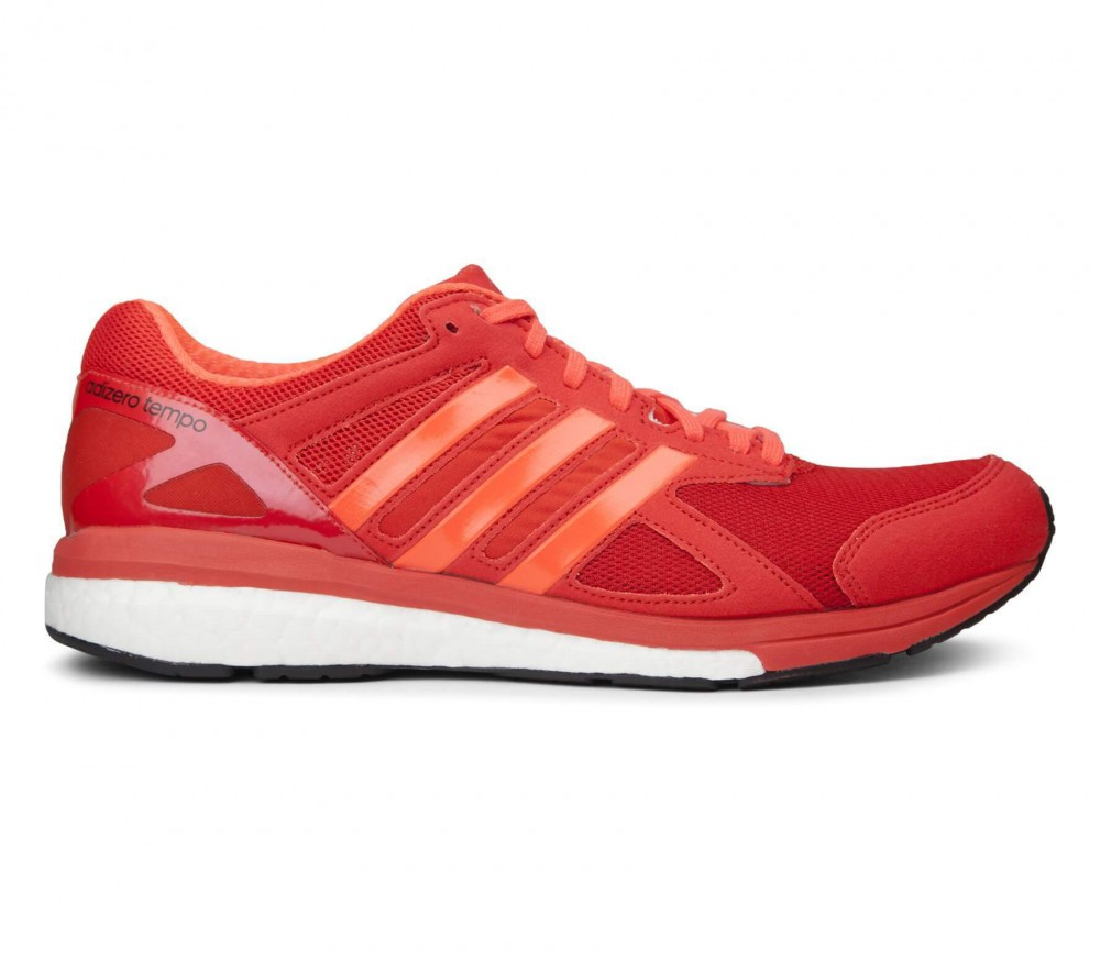Adidas - adizero Tempo 8 men's running shoes (red/orange)
