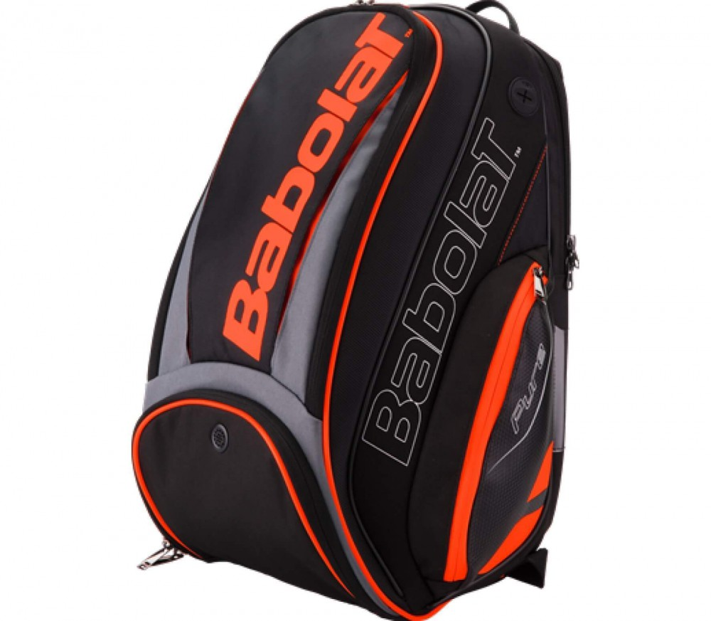 babolat pure sac dos sac dos tennis noir orange. Black Bedroom Furniture Sets. Home Design Ideas