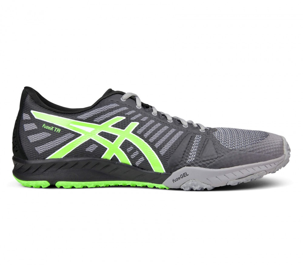 ASICS - fuzeX TR men's training shoes (grey/green)