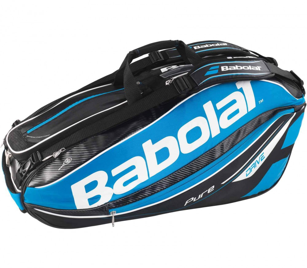 Babolat - Racket Holder 9er Pure Drive tennis bag (blue)