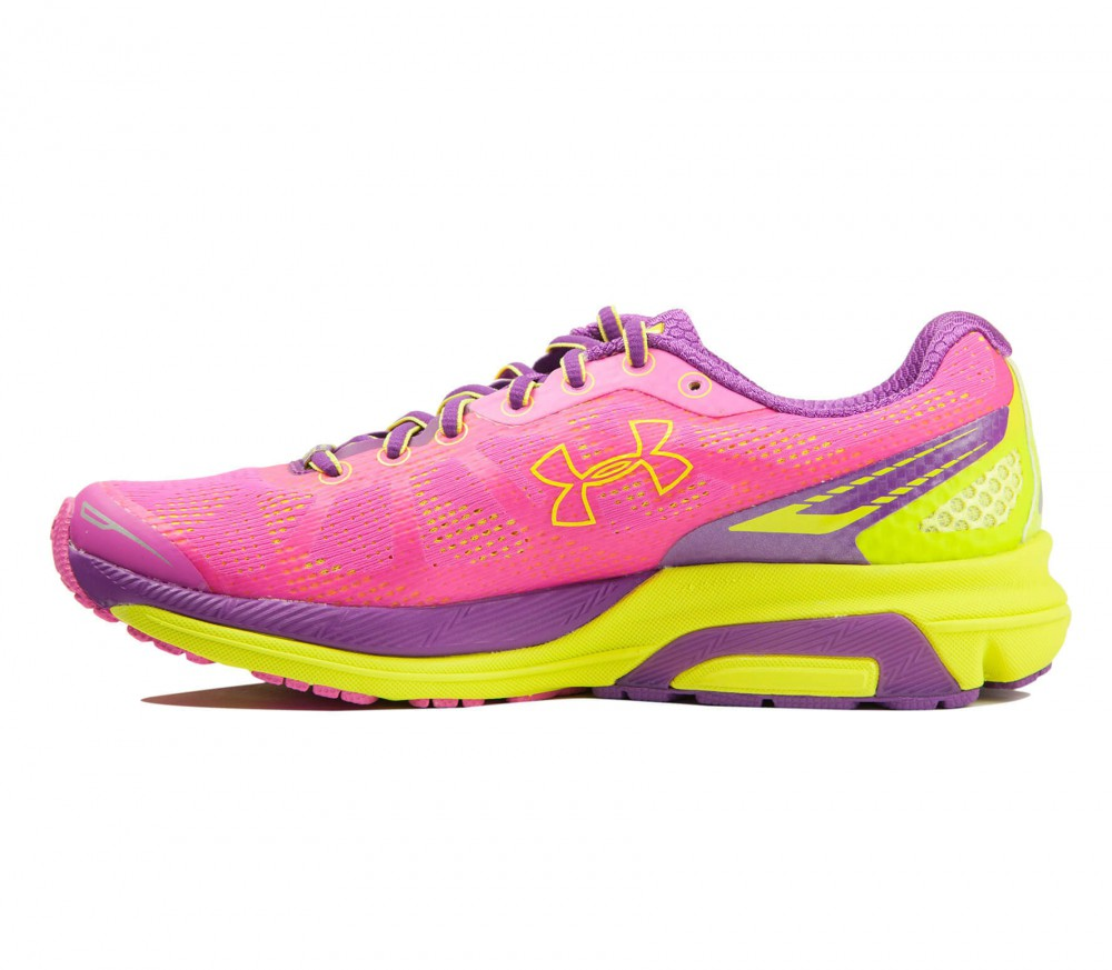 Under Armour - Charged Bandit women's running shoes (pink/yellow)