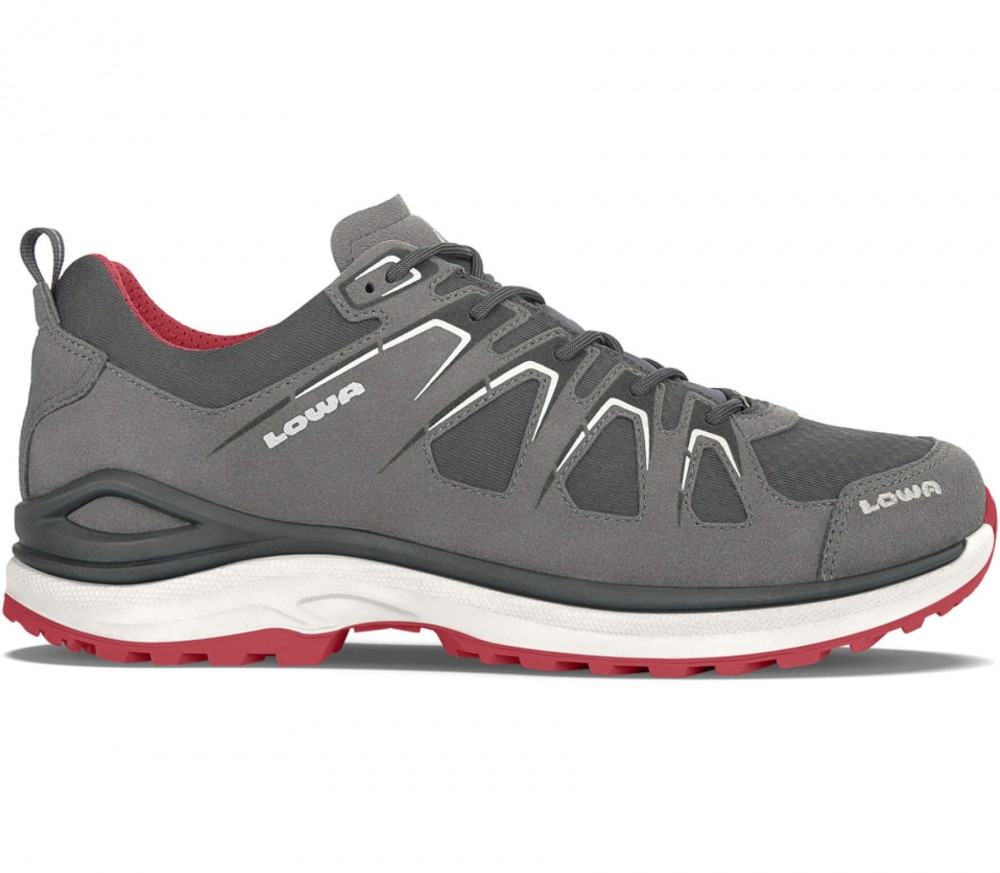 Lowa - Innox Evo GTX LO men's hiking shoes (grey/red)