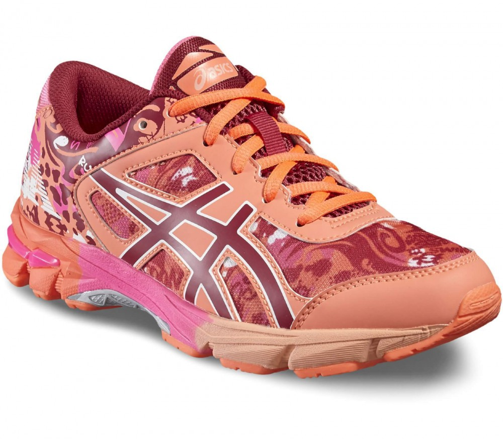 asics rose et orange