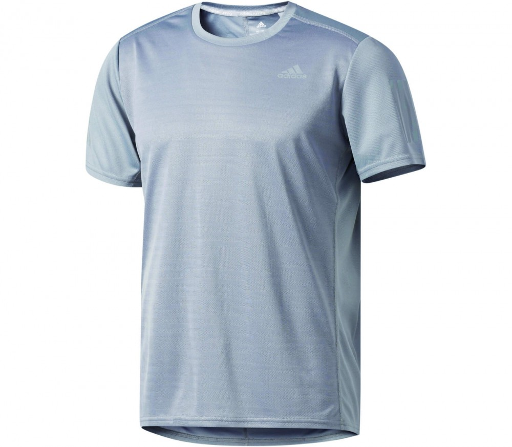 Adidas - Response Shortsleeve men's running top (grey)