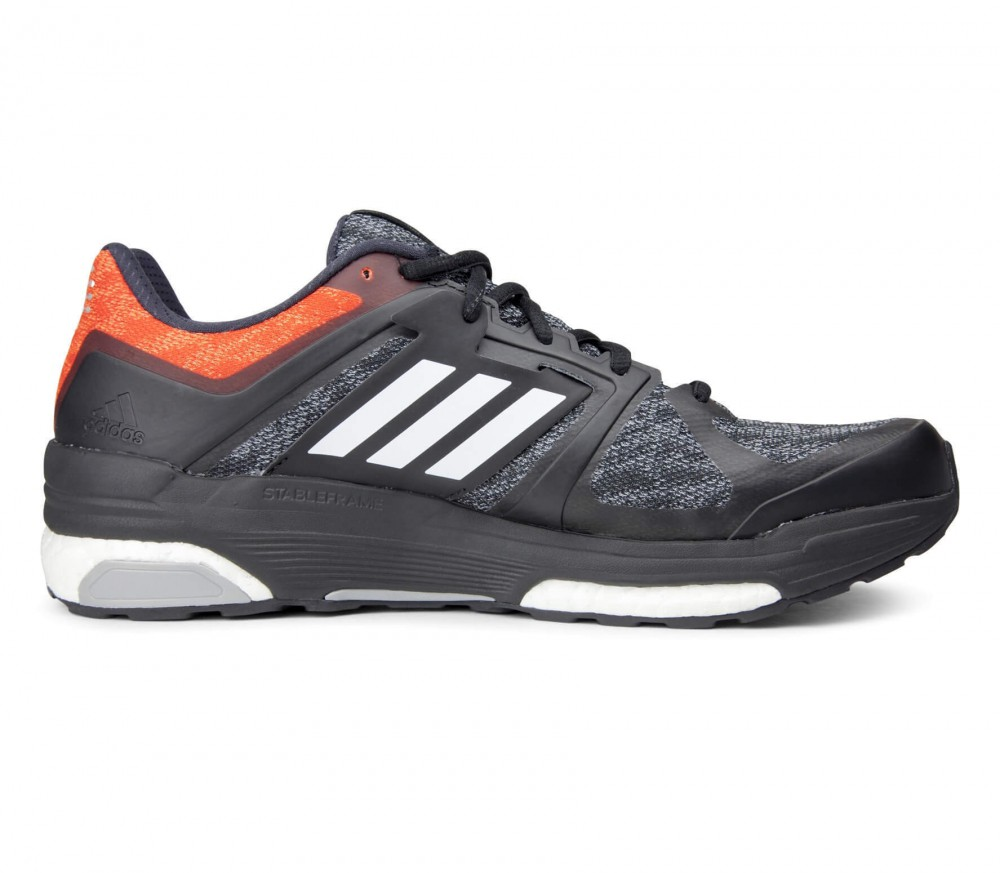Adidas - Supernova Sequence 9 men's running shoes (black/orange)