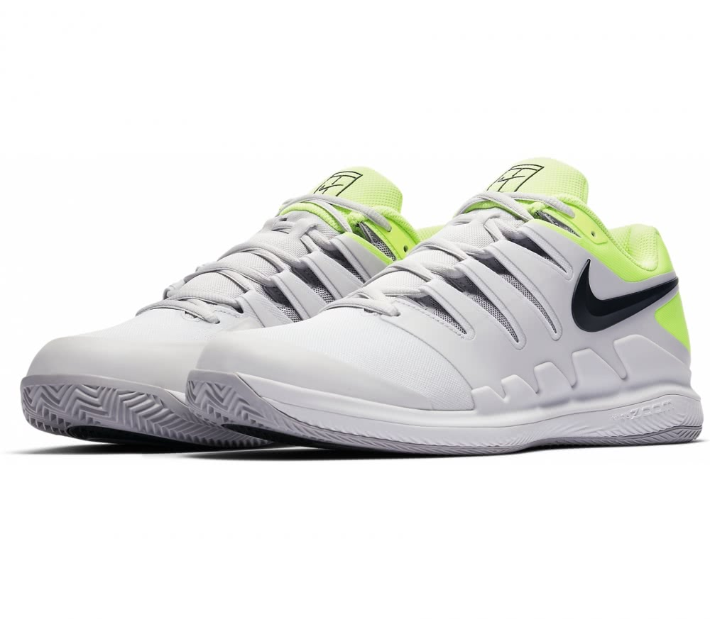 Nike  Air Zoom Vapor X Clay Children tennis shoes greyyellow