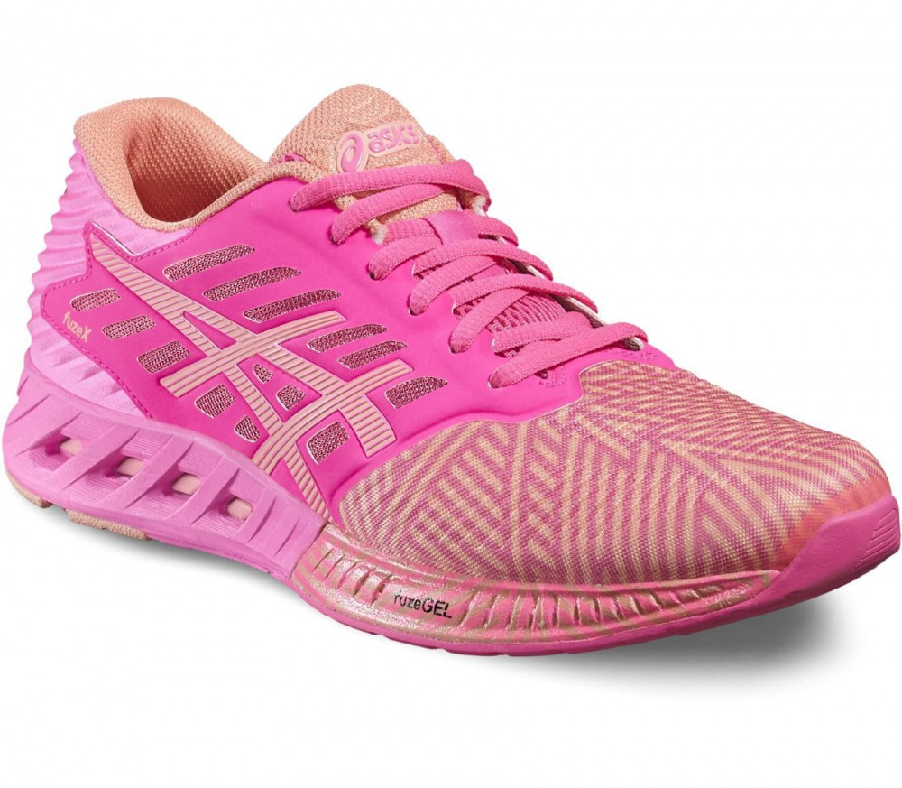 Asics - FuzeX women's running shoes (light red/pink)