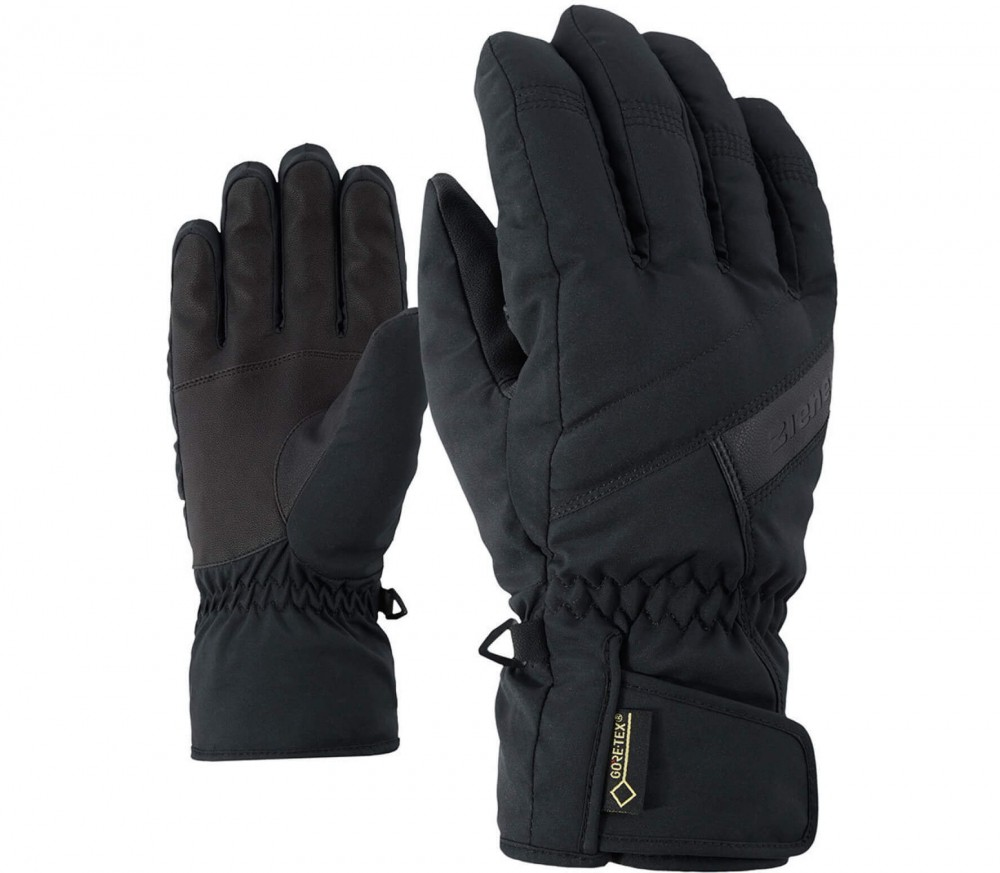 Ziener - Gapon GTX® men's ski gloves (black)