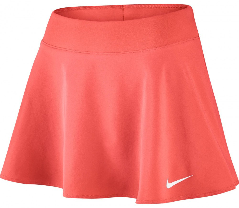 Nike - Court women's tennis skirt (orange/white)