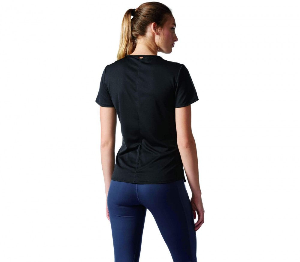 Adidas - Response Shortsleeve women's running t-shirt (black)