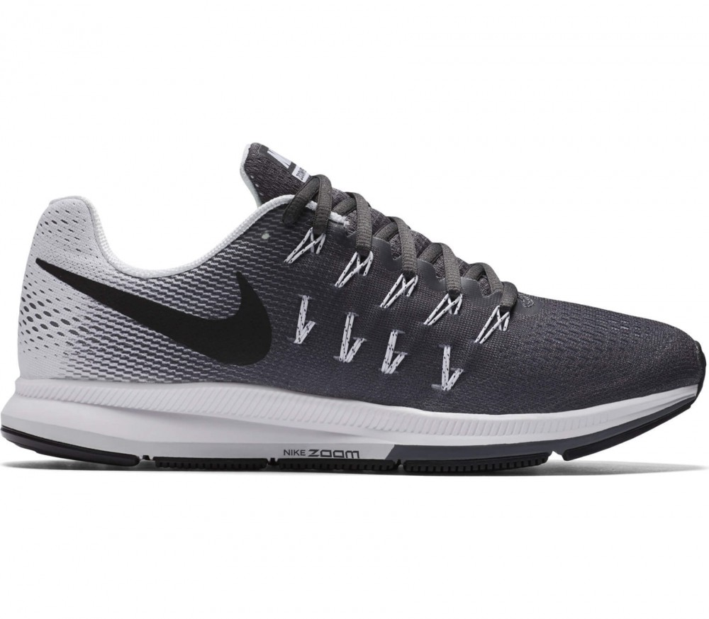 Nike - Air Zoom Pegasus 33 men's running shoes (grey/black)