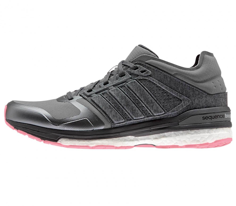 Adidas - Supernova Sequence Boost 8 Climaheat women's running shoes (grey /pink)