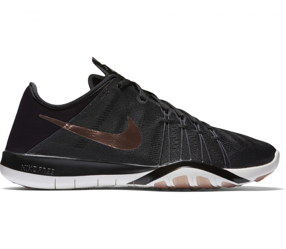nike women's free tr 6 training shoes - black\/bronze saucony