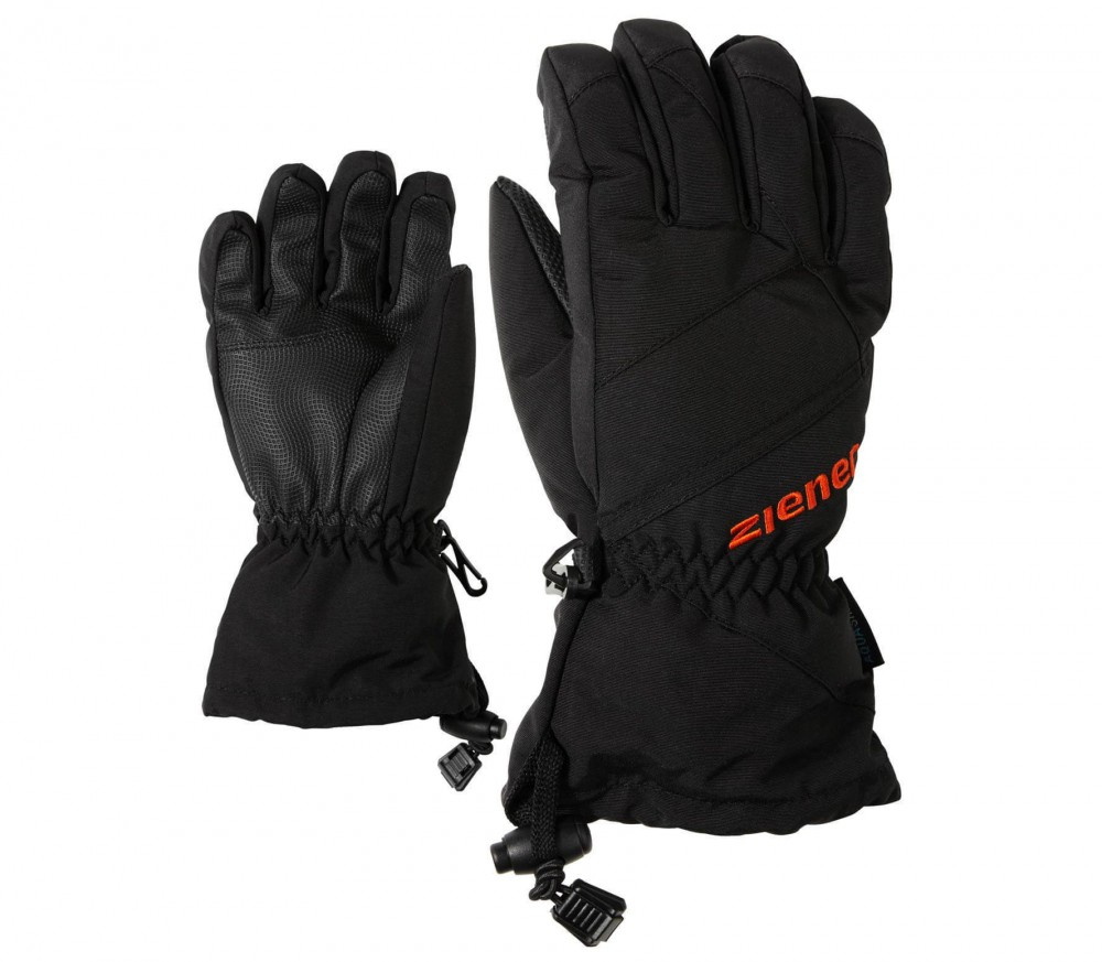 Ziener - Agil AS Children skis gloves (black)