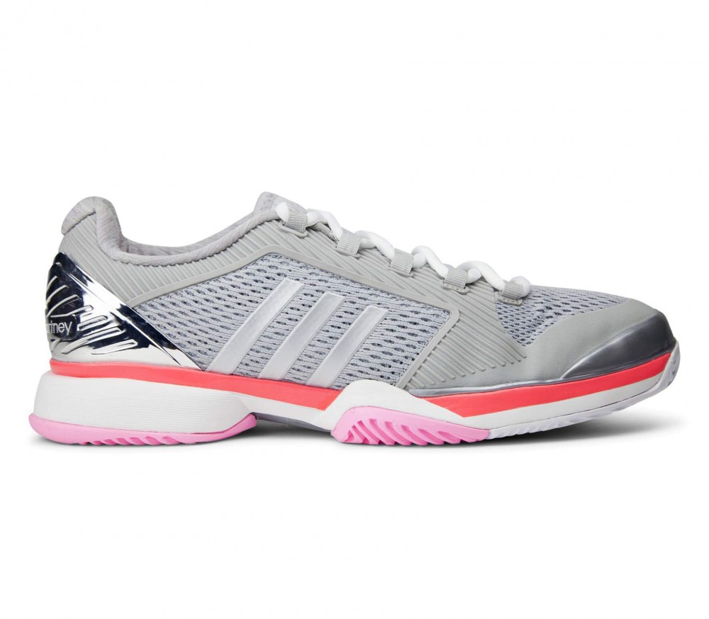 adidas asmc barricade 2016 women 39 s tennis shoes grey. Black Bedroom Furniture Sets. Home Design Ideas