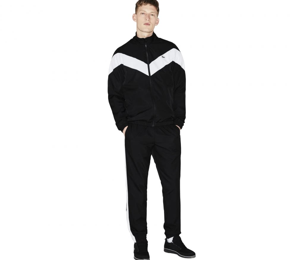 Lacoste - Tracksuit men's tennis tracksuit (black/white)