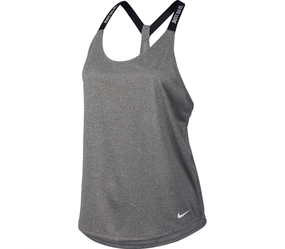 The Nike Women's Dry Training Tank Top features Nike™ Dry fabric and mesh ventilation panels.