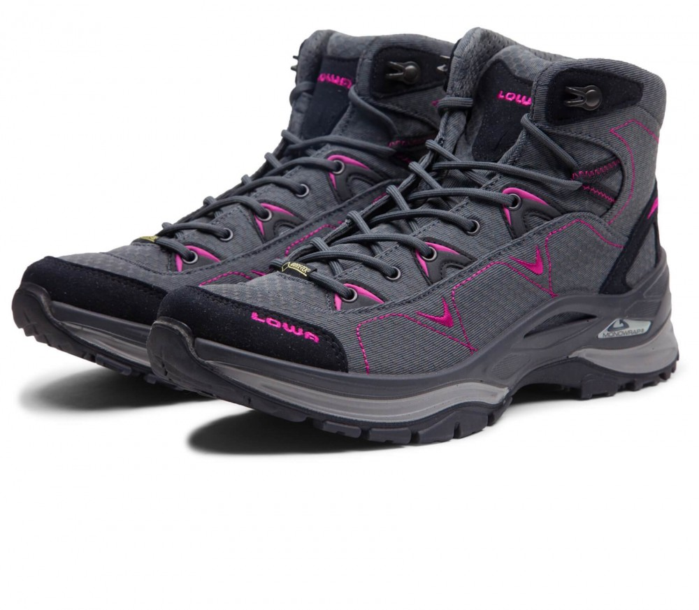 Lowa - Ferrox GTX Mid women's hiking shoes (purple/grey)