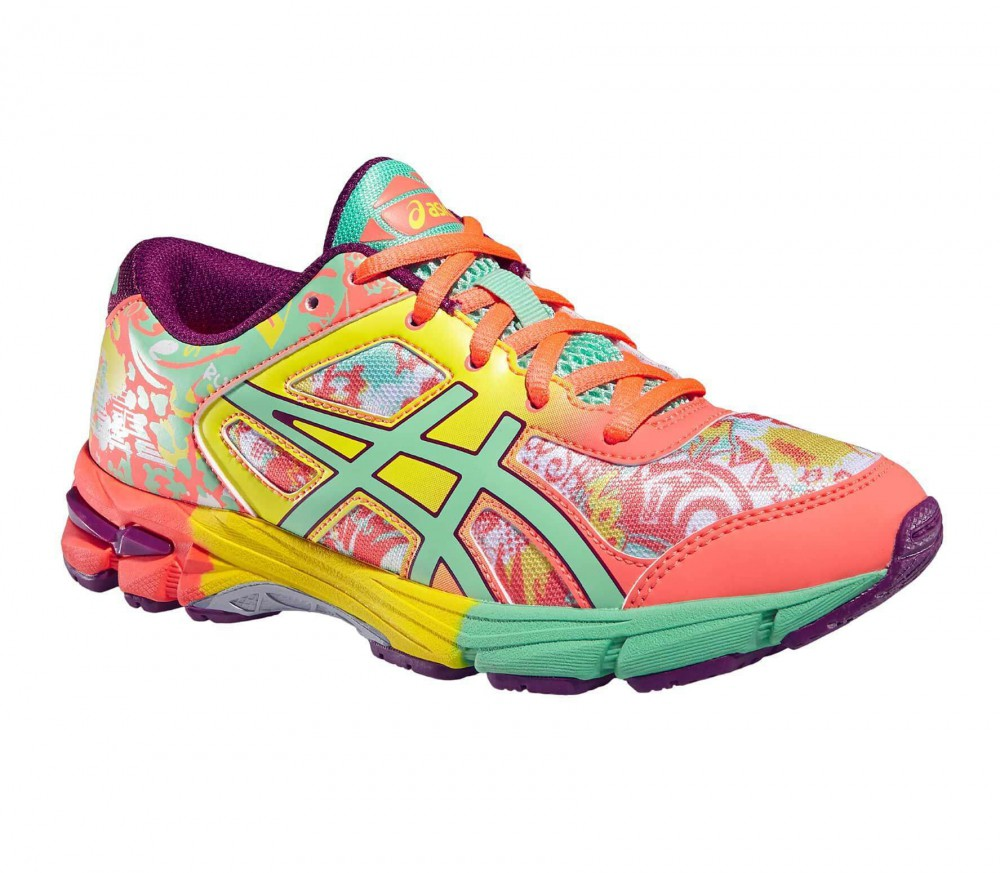 ASICS - Gel-Noosa Tri 11 junior running shoes (orange/light green)