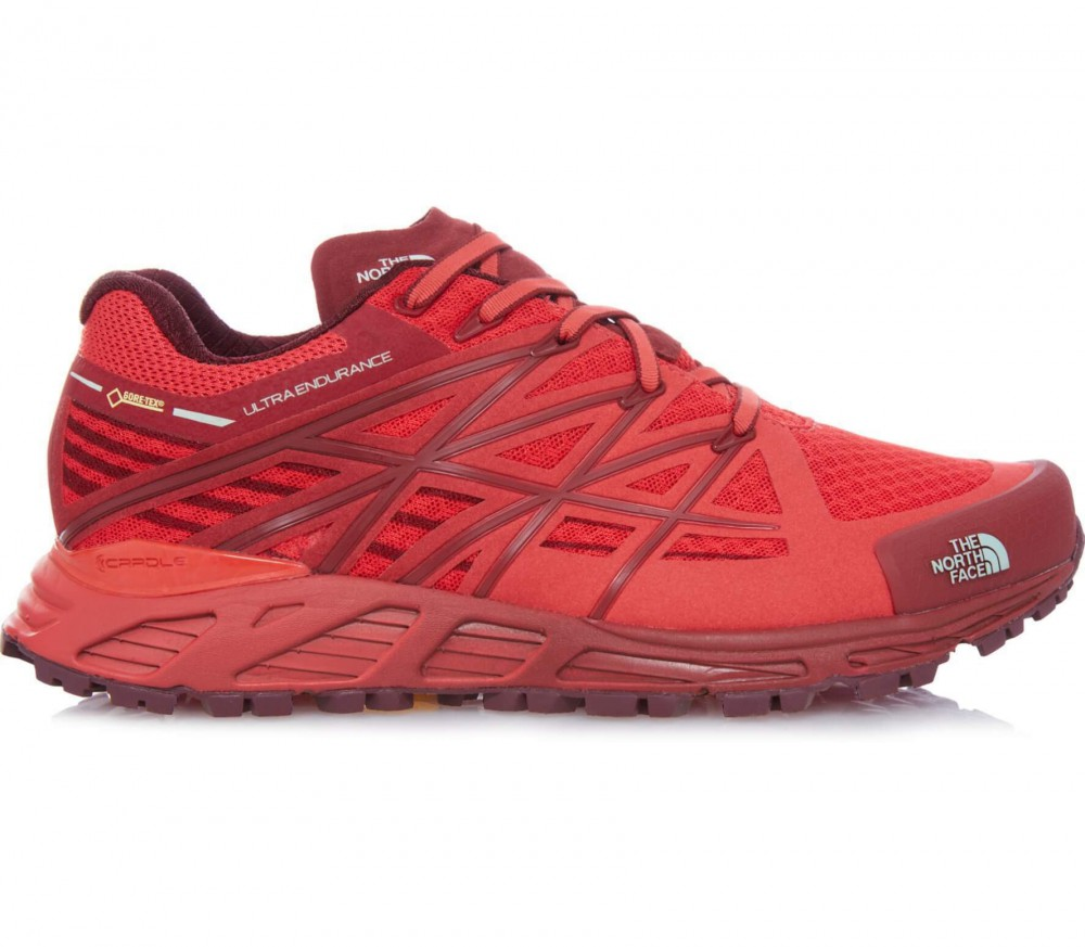 north face Shoes red