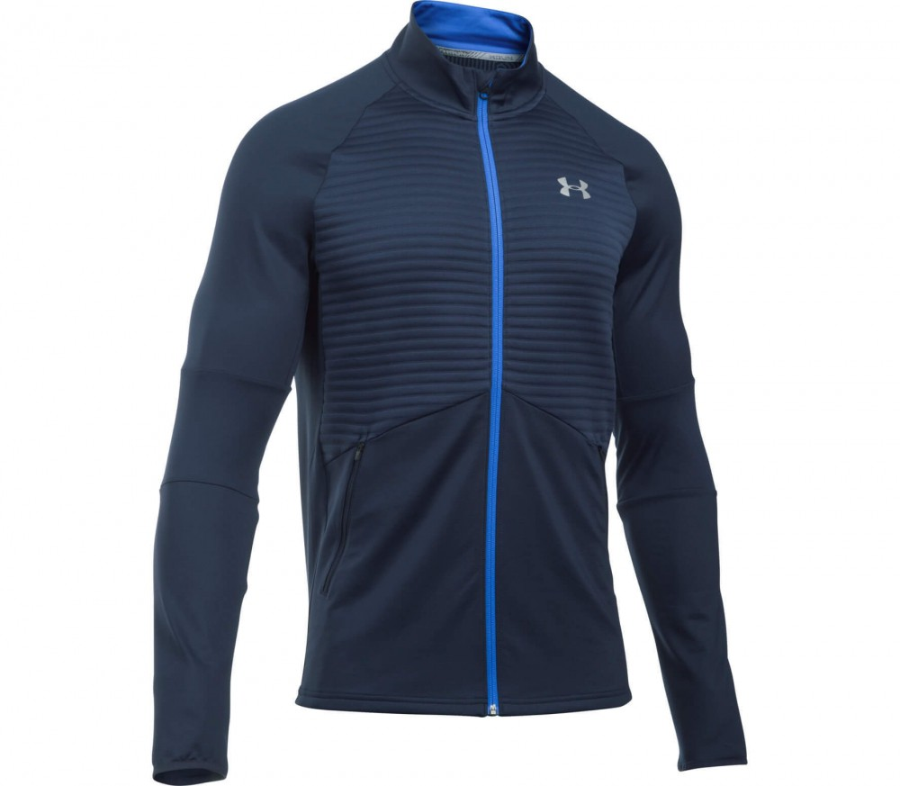 Under Armour - Nobreaks CGI men's running jacket (dark blue/light blue)
