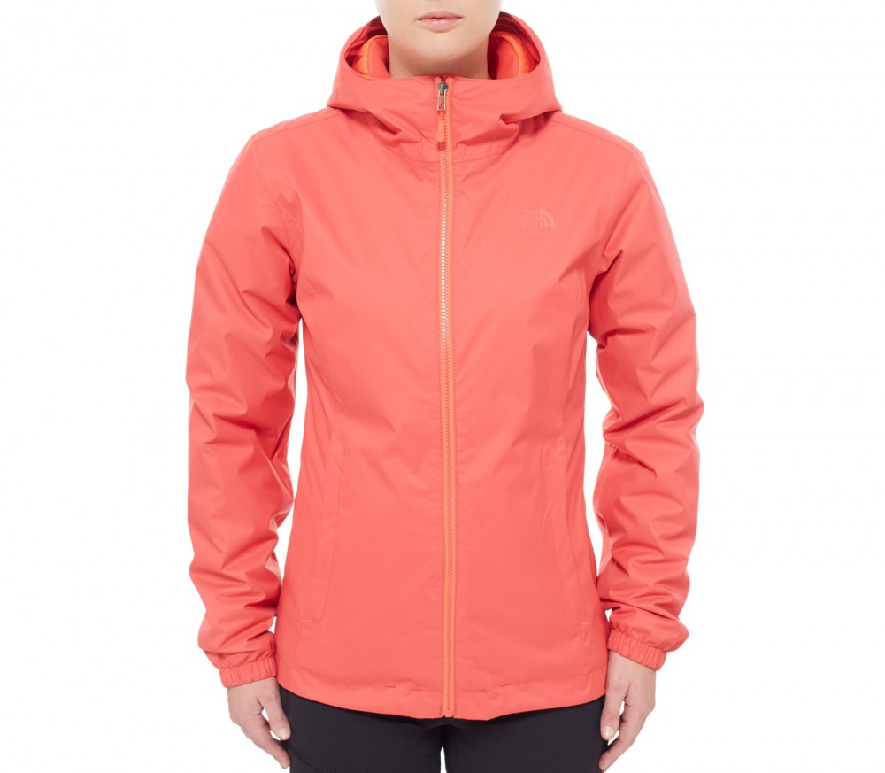 Exhibition Shell Jacket : The north face quest insulated women s shell jacket red