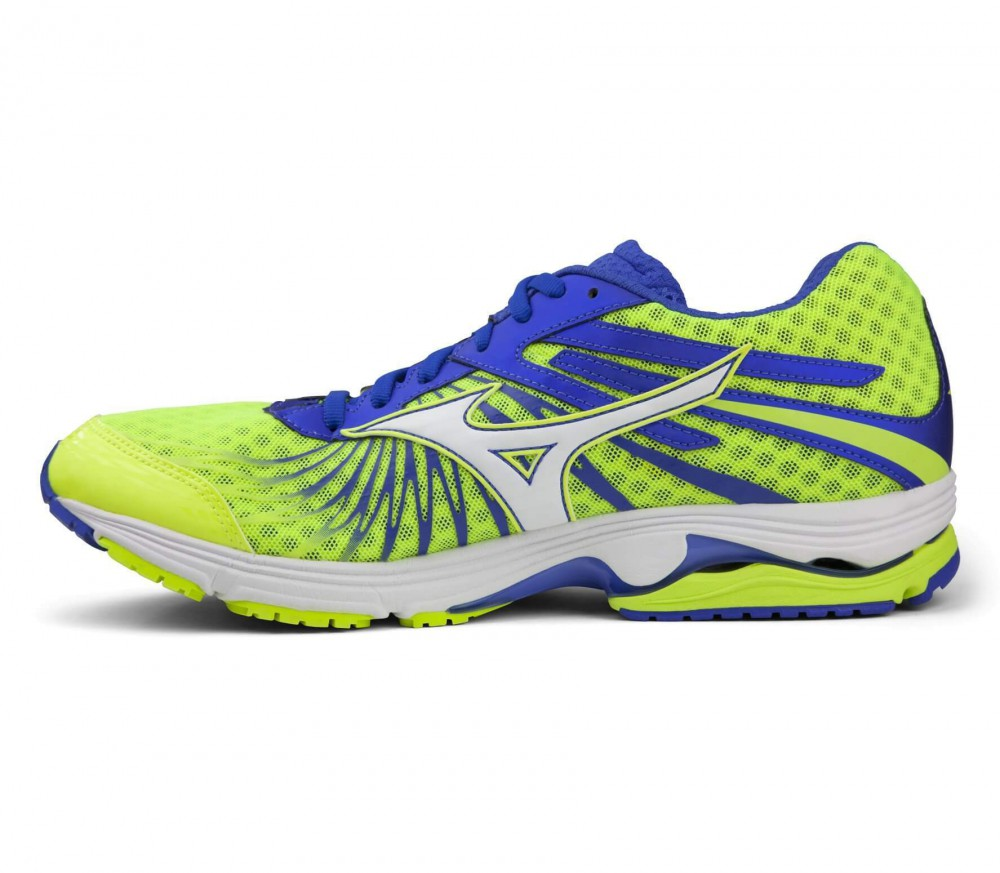 Mizuno - Wave Sayonara 4 men's running shoes (yellow/blue)