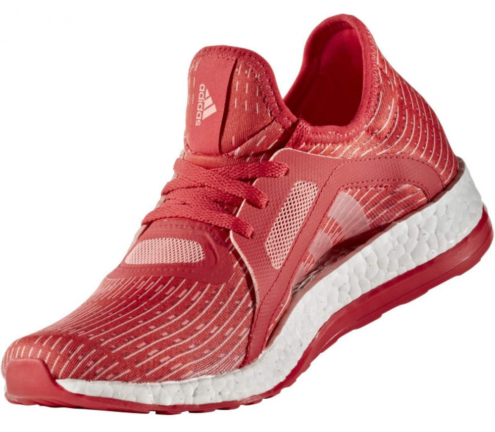 Adidas - Pureboost X women's running shoes (red/white)